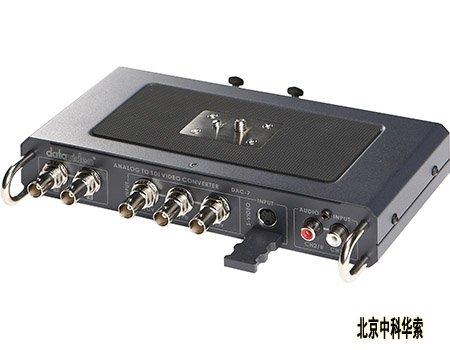 s(y/c)及分量信号,通过内部转换输出sdi视频信号,且dac-7可接受非平衡